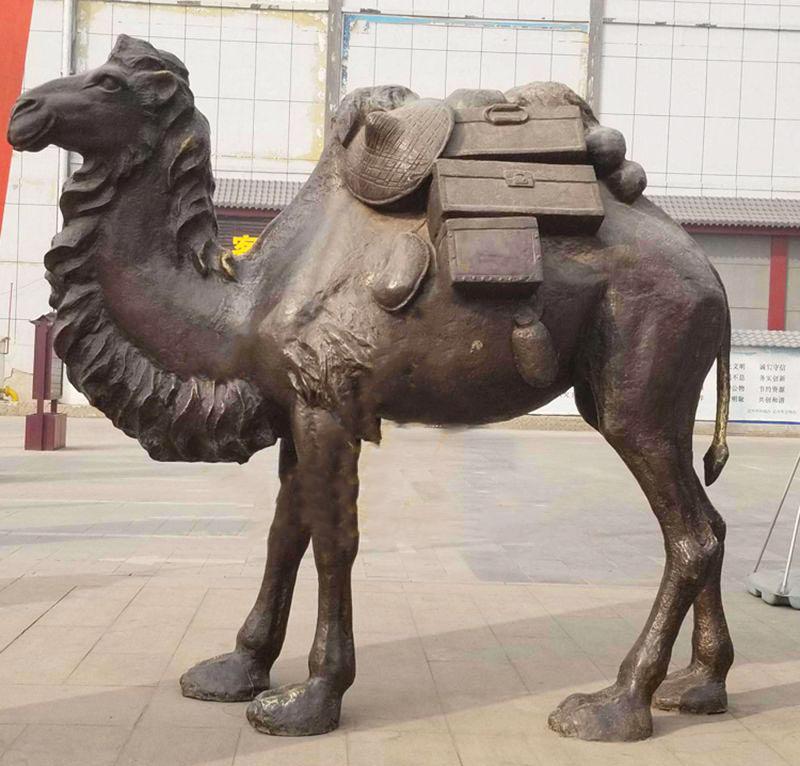 Large camel sculpture outdoor