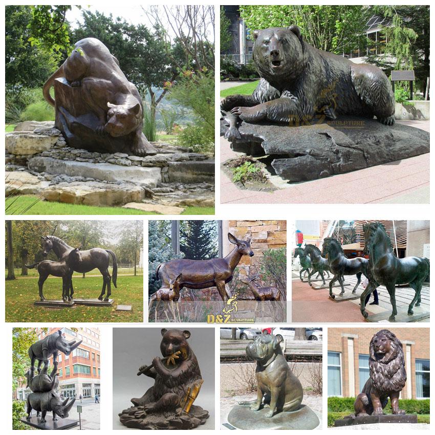How is a bronze sculpture made?