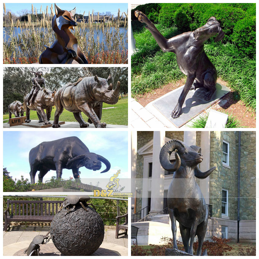 What is the process of bronze casting?