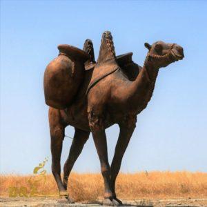 camel bronze animal statue