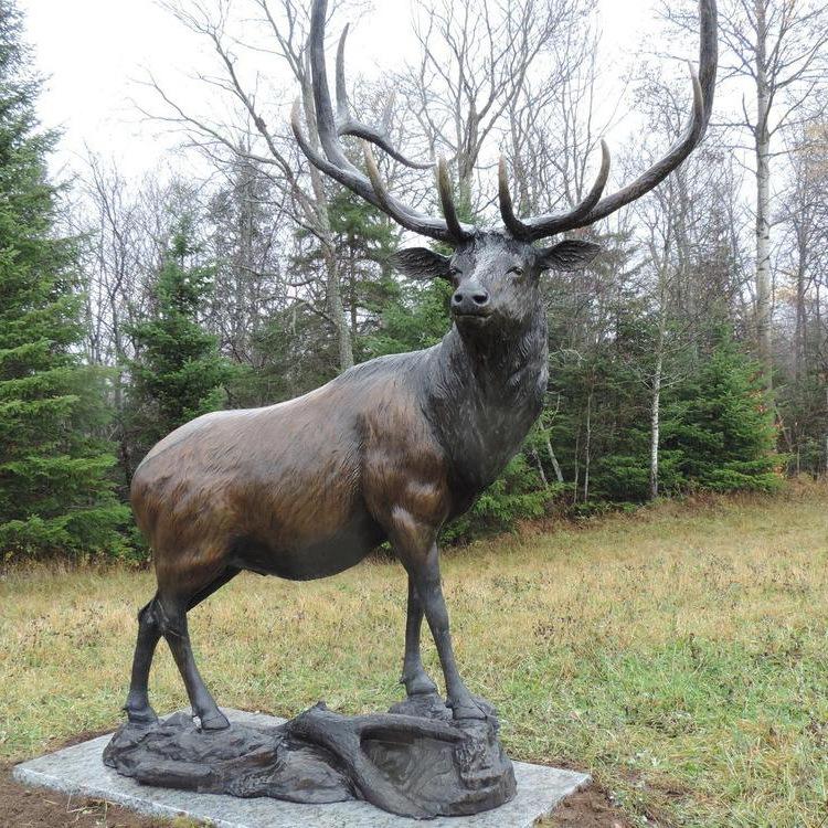 Lawn Statue Elk