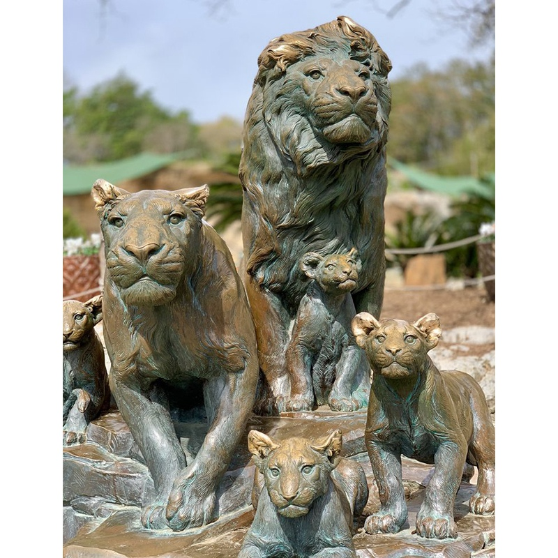 lions sculpture wholesale