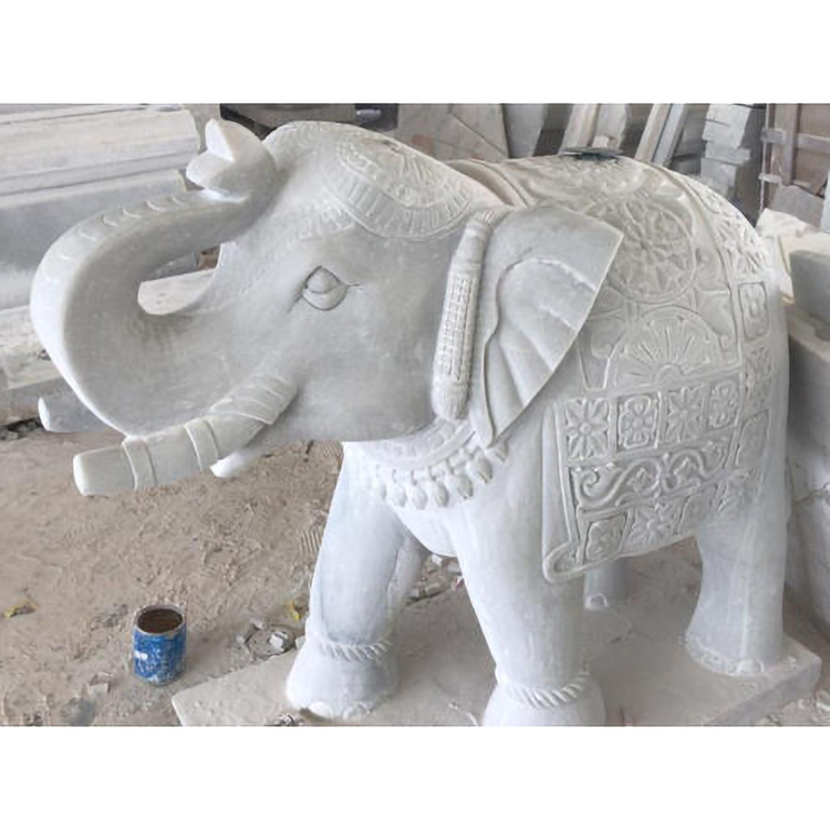 elephant stone sculpture