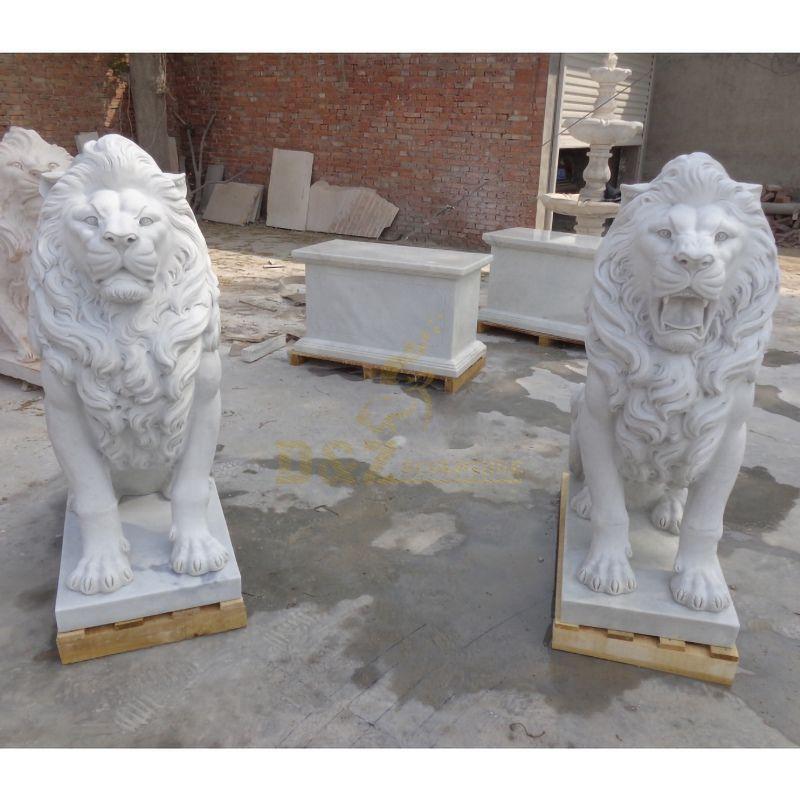 Sculpture of lions