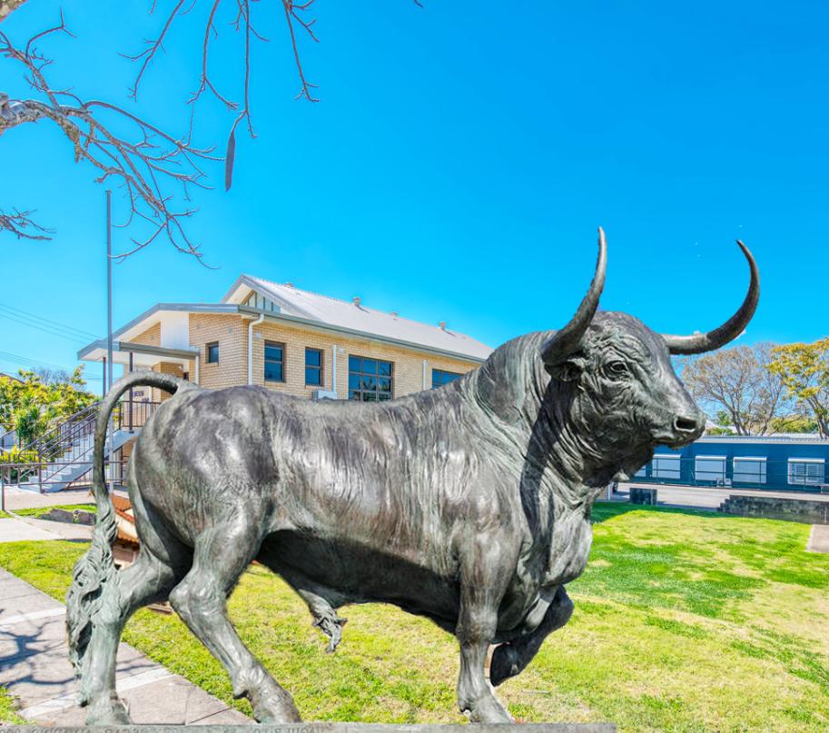 Bull Statue Bronze