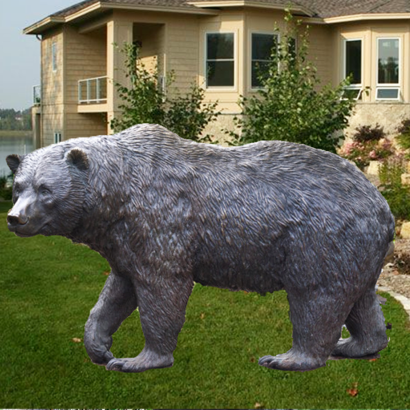 Bear statue sculpture