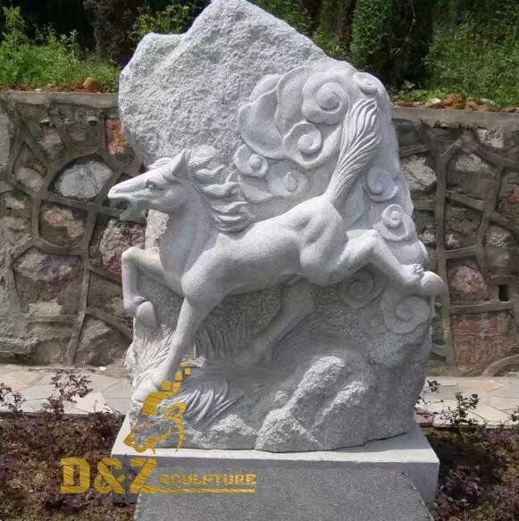 pony statue