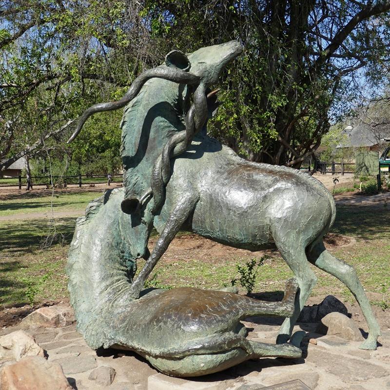 Antelope Statues