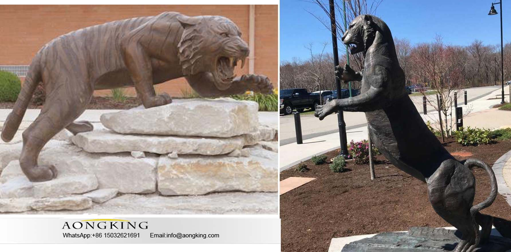 wild animal sculpture