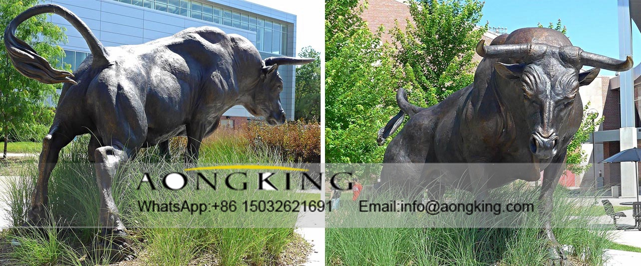 Strong Bull Statue