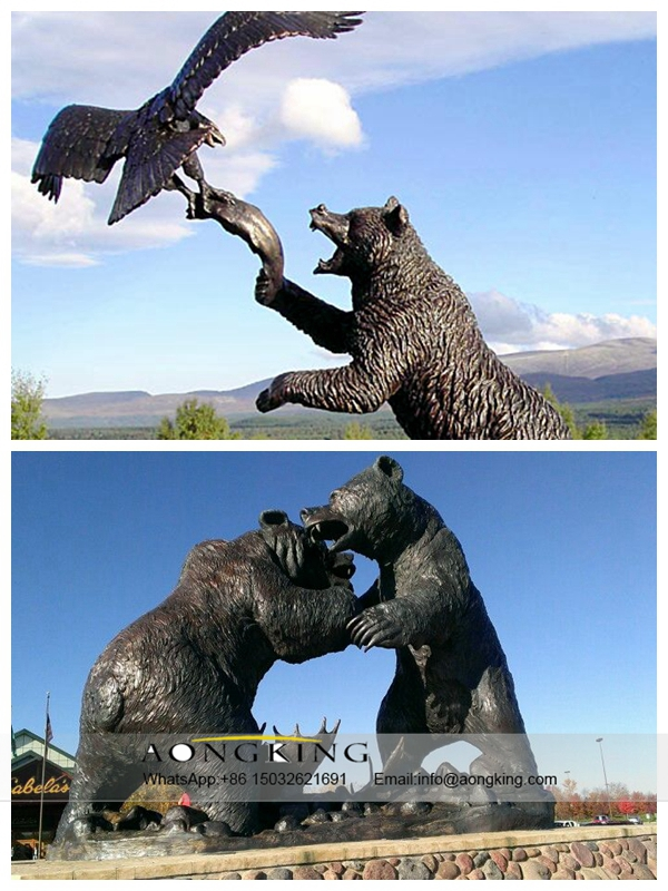 Eagle vs bear
