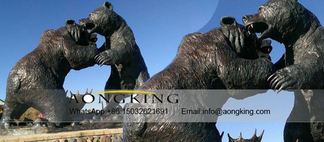 Casting fight bear