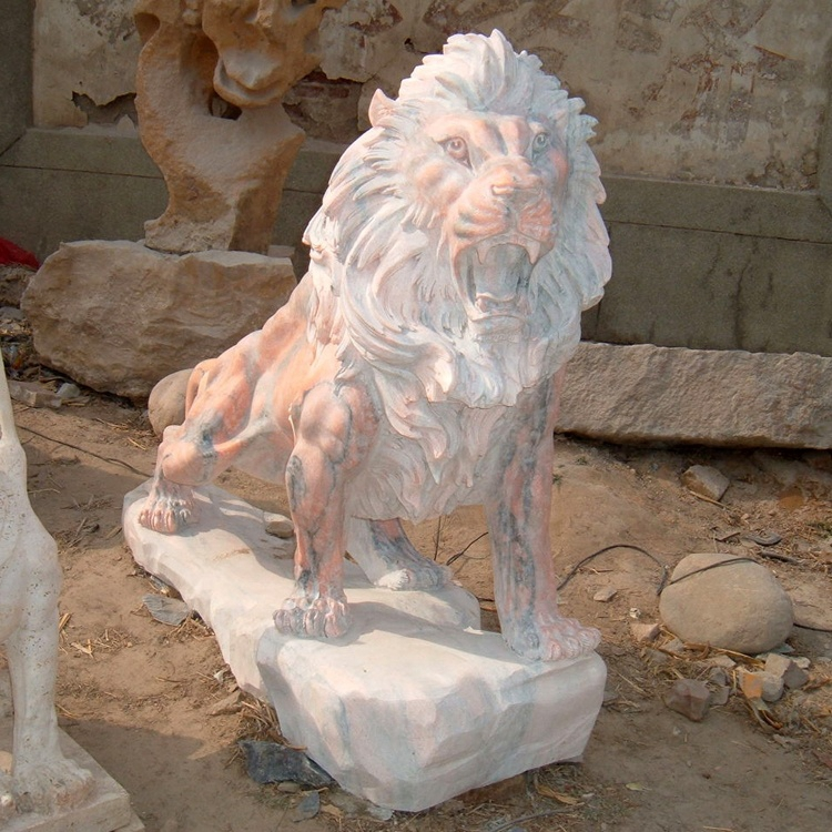 animal lion statues