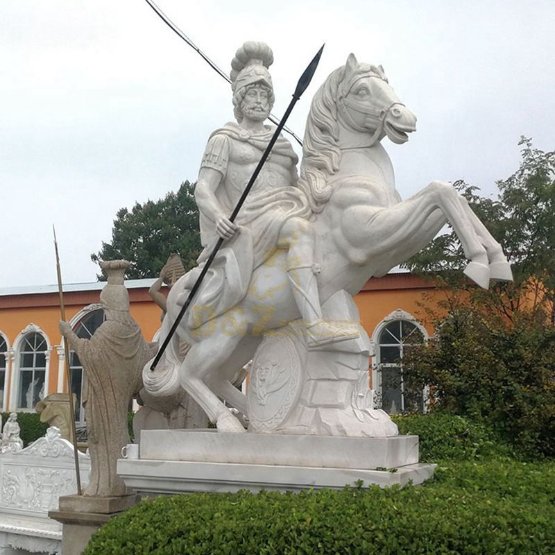 horse soldiers statue