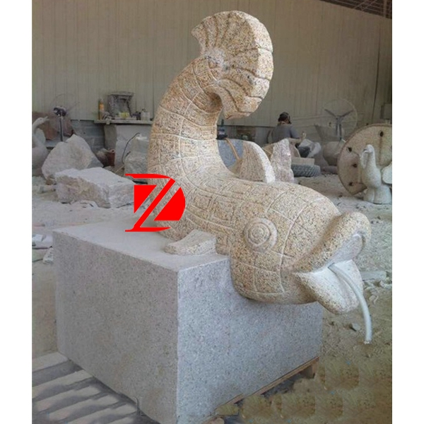 large fish sculpture