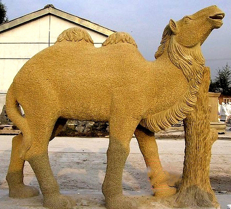 large camel statue