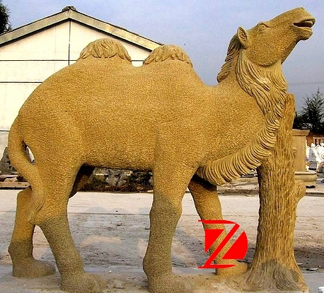 large camel statue