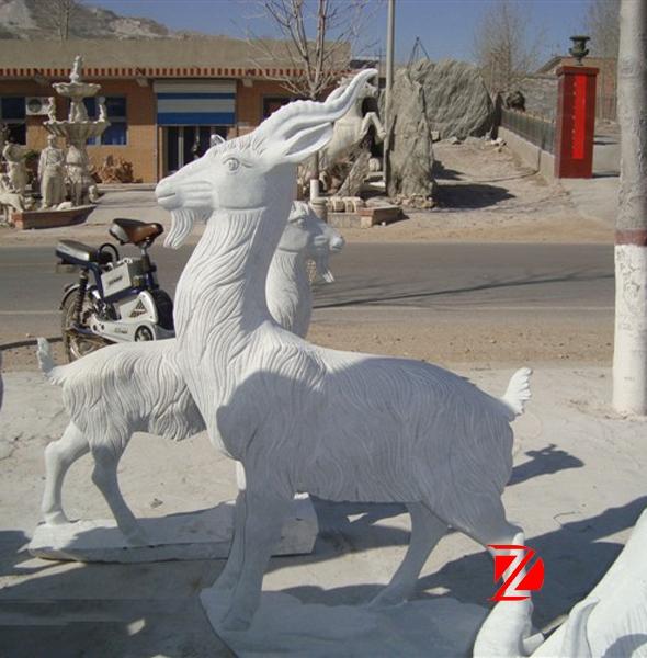 sheep statue