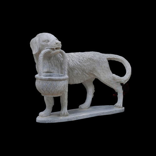 dog sculpture 1 piece