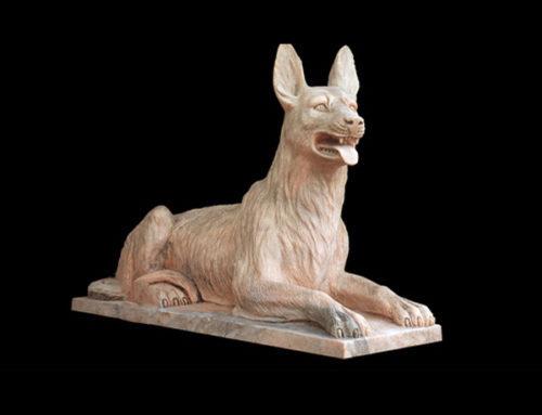 Foo stone dogs statues