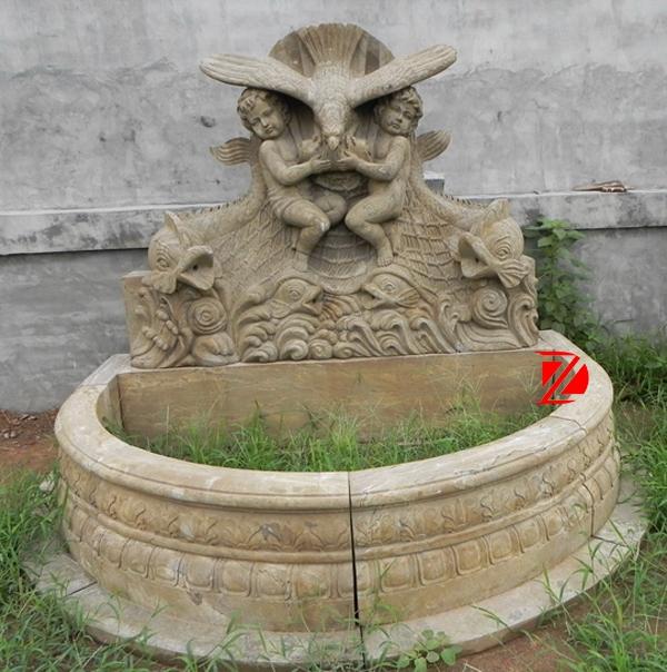 boy statue garden fountain