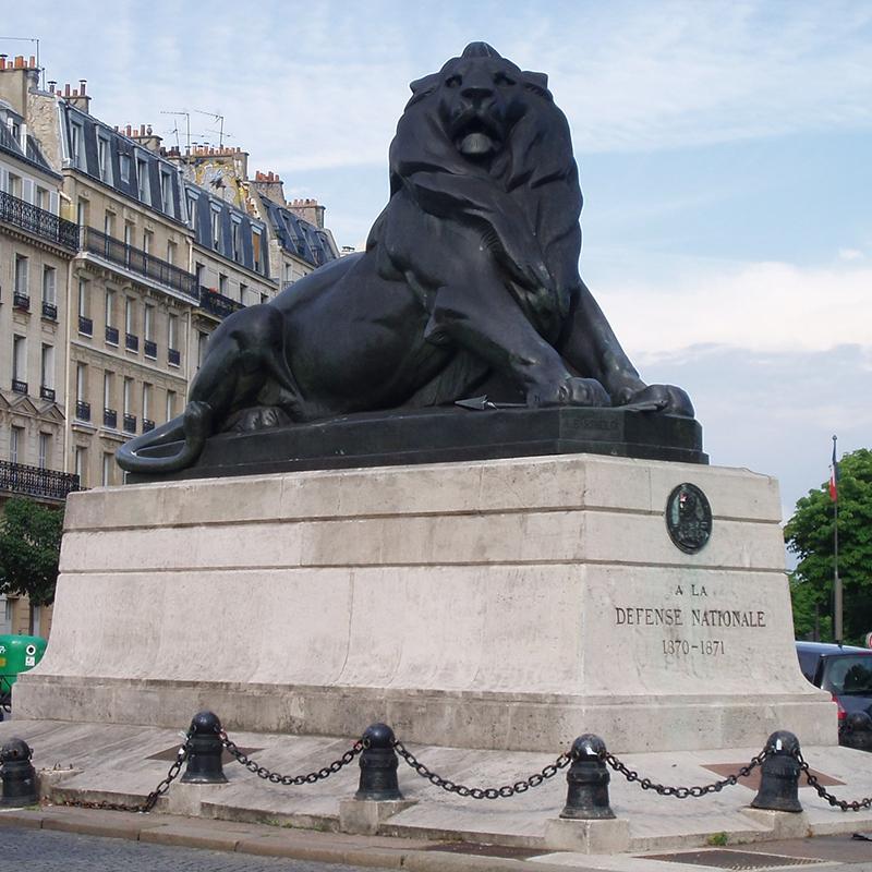 lion statue sculpture