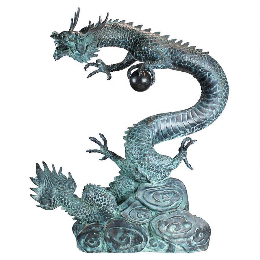 bronze dragon bead