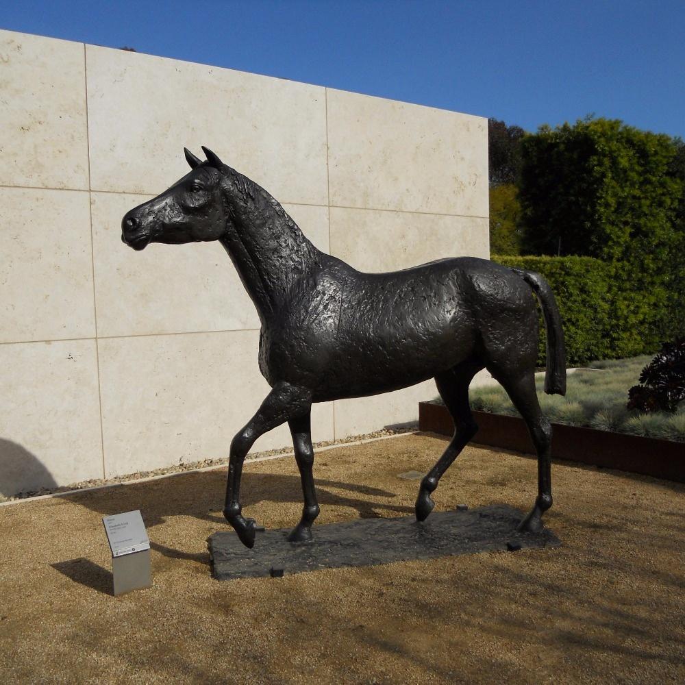 antique horse statue