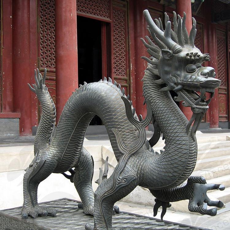 bronze temple dragon