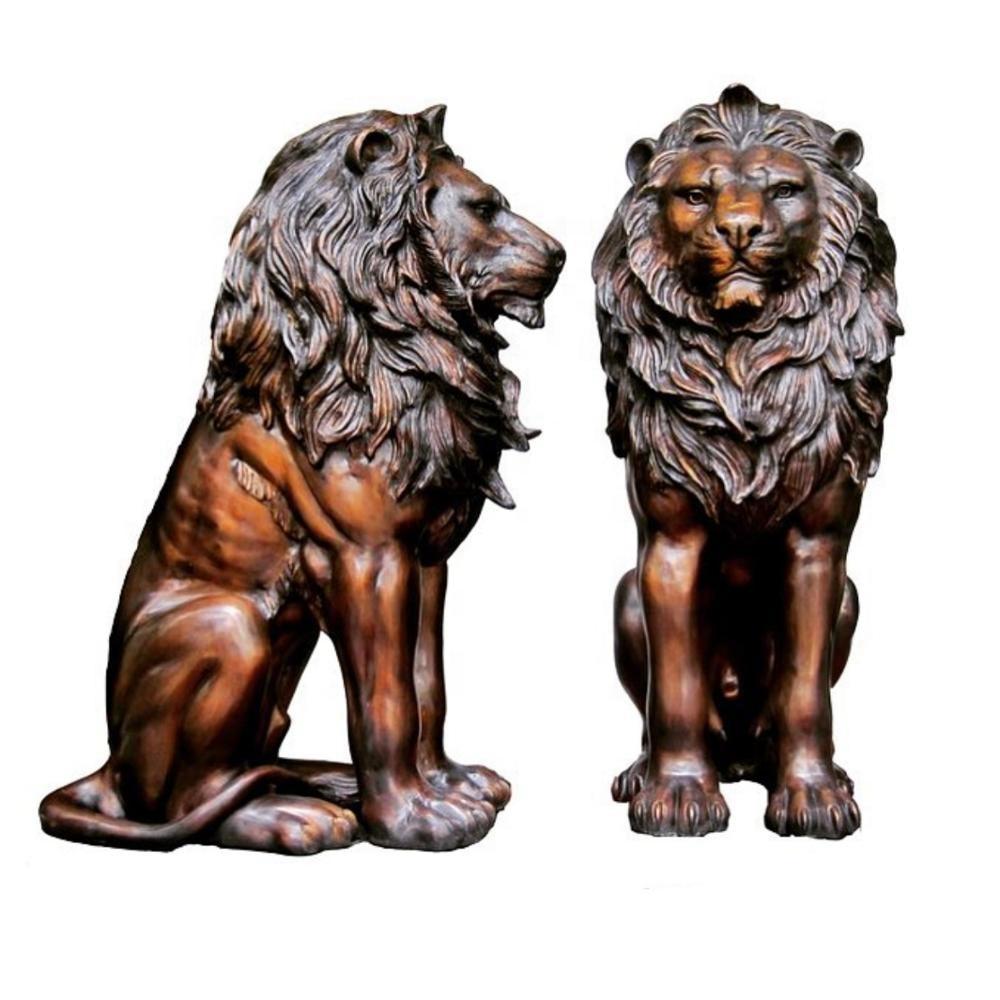 hsbc lion sculpture