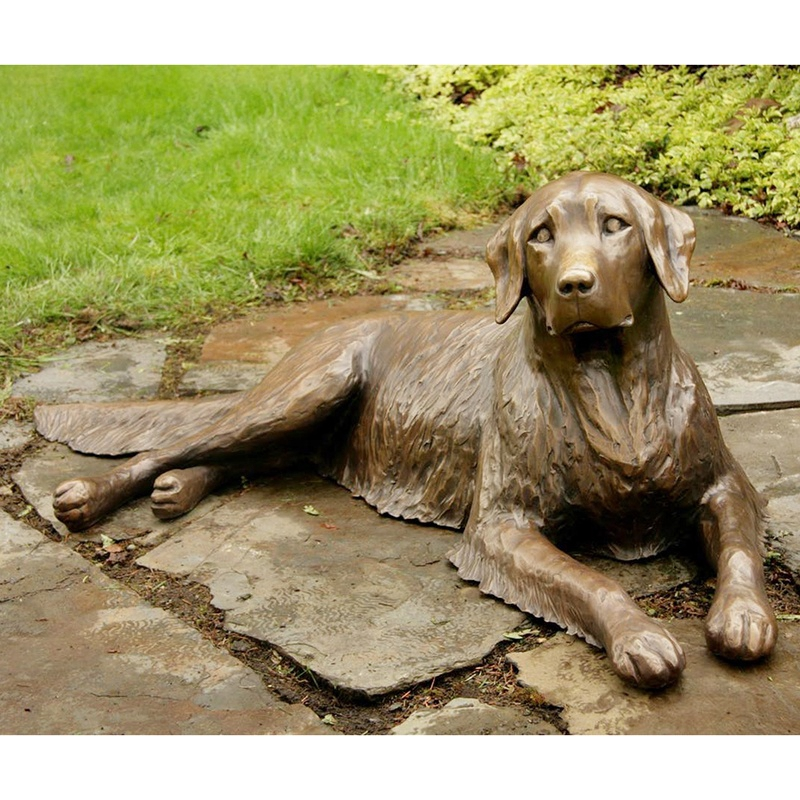 poodle dog statues