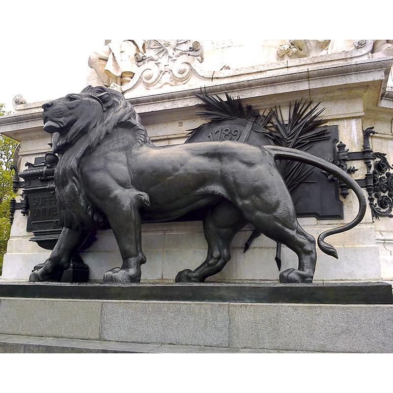 large sculptures for sale lion
