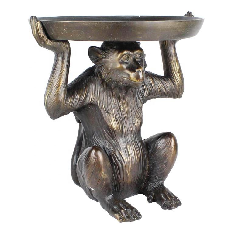 brass monkey statue sculptures