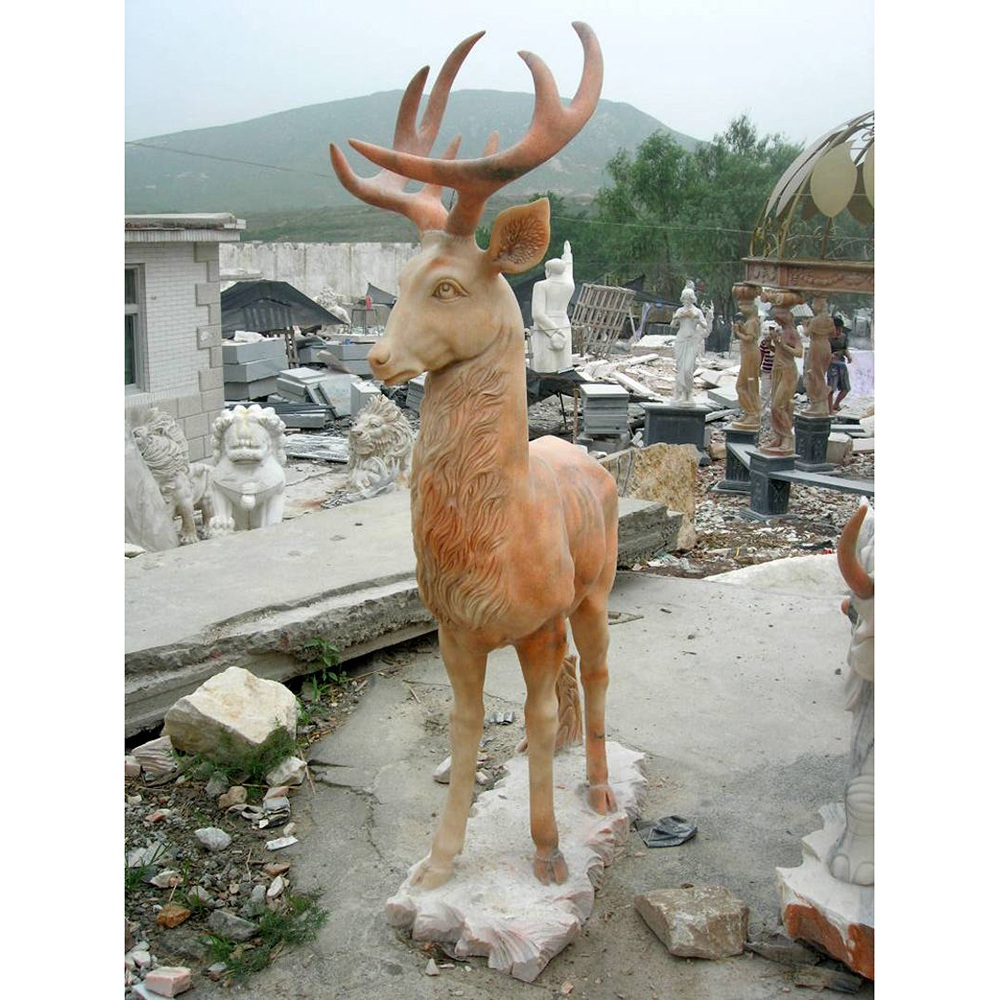 Sika deer sculpture