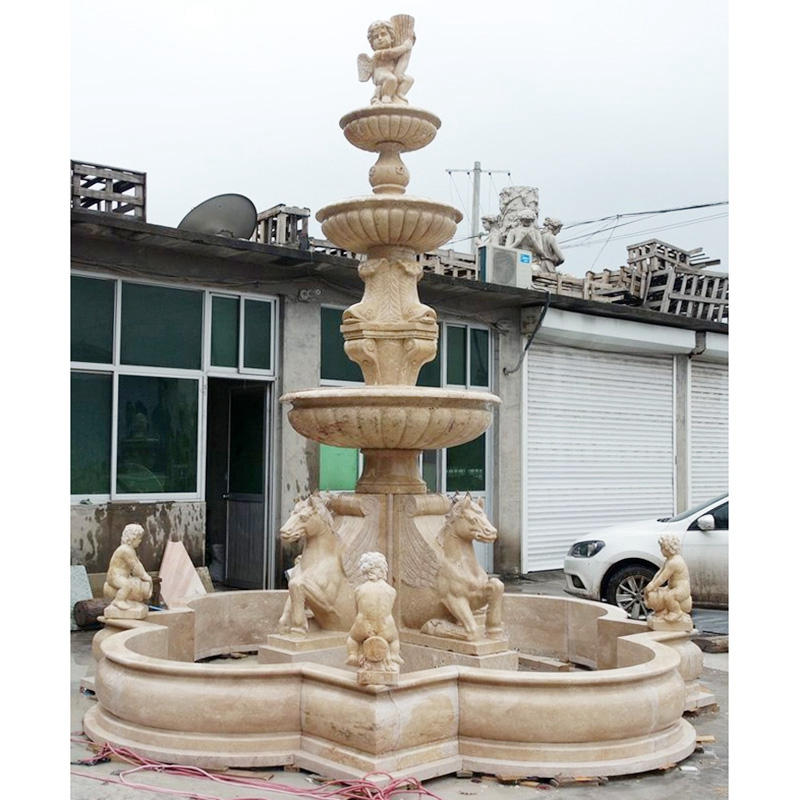 3 Tier water fountains