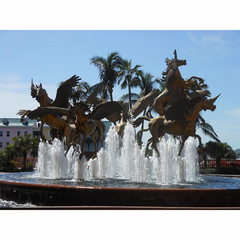 pegasus sculptures