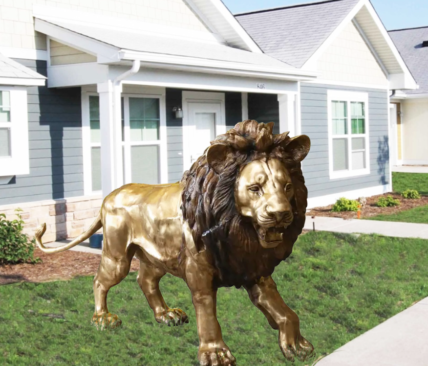lion statue for Zoo