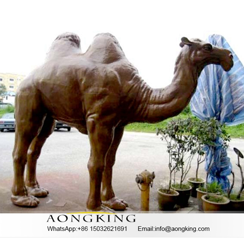 Camel Statue Bronze Sculpture