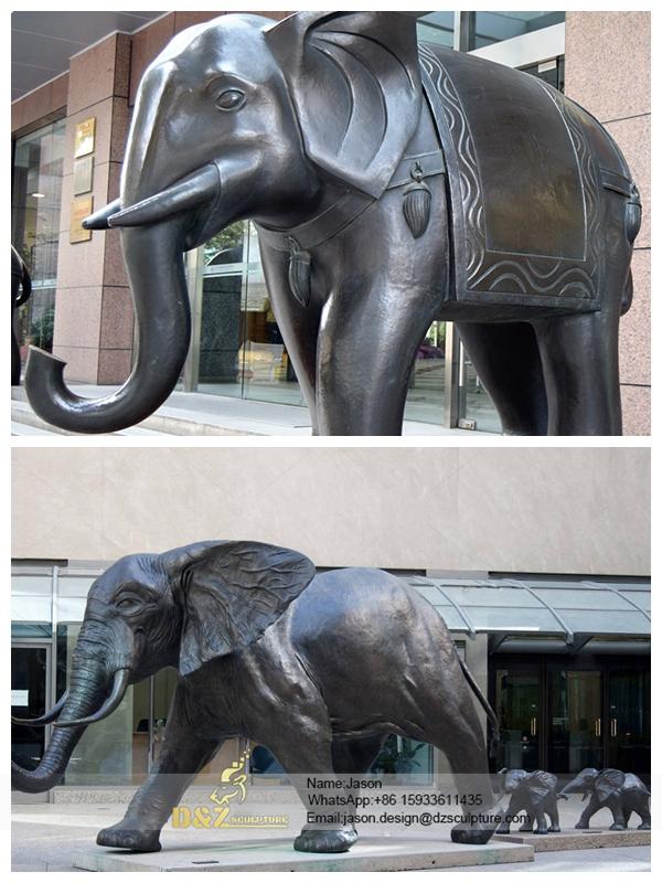 Antique elephant Sculpture
