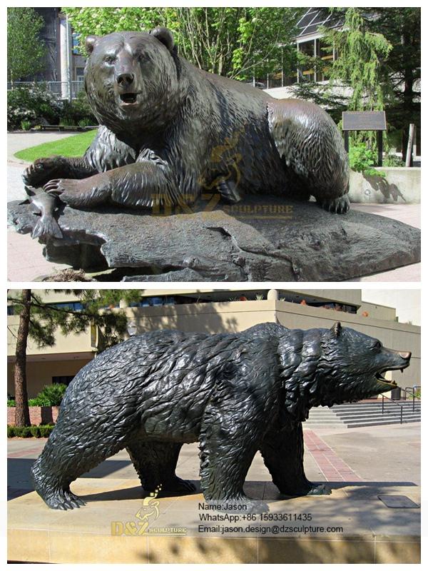 Metal Craft Bronze Bear