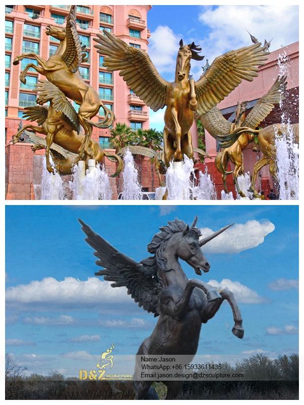 Pegasus Figurine Flying Horse