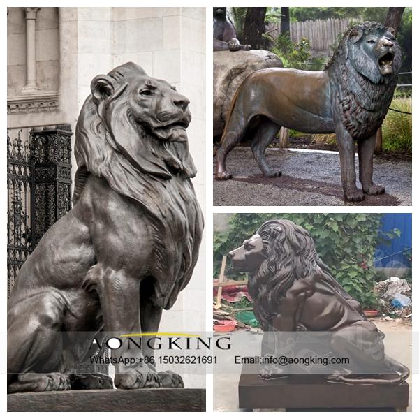 Sitting Lion Sculpture Sale
