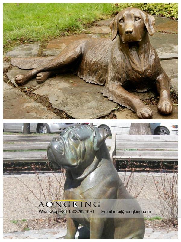 Casting Bronze dog