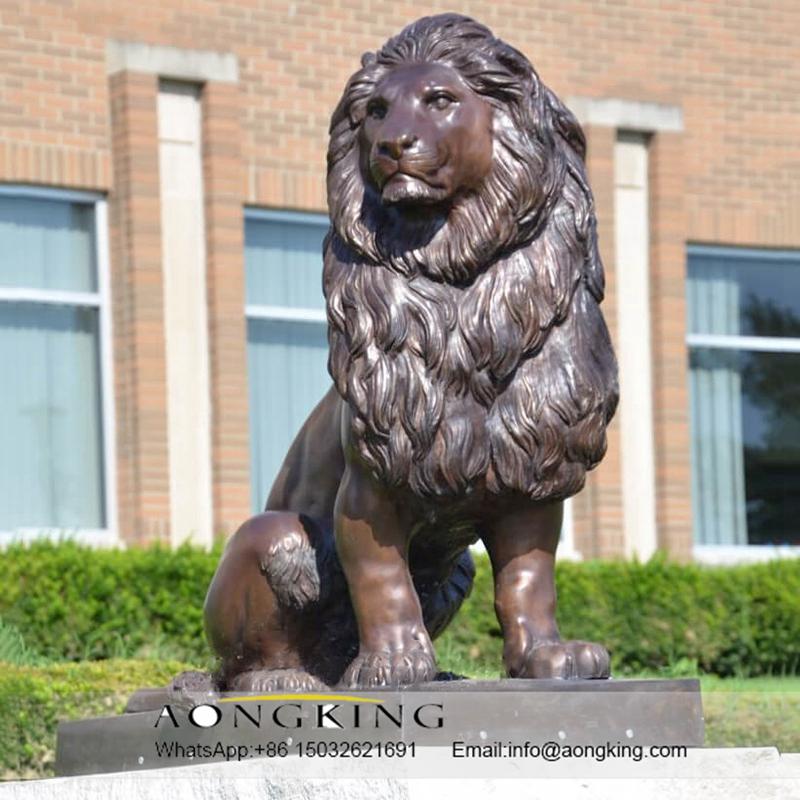 lion animal sculpture