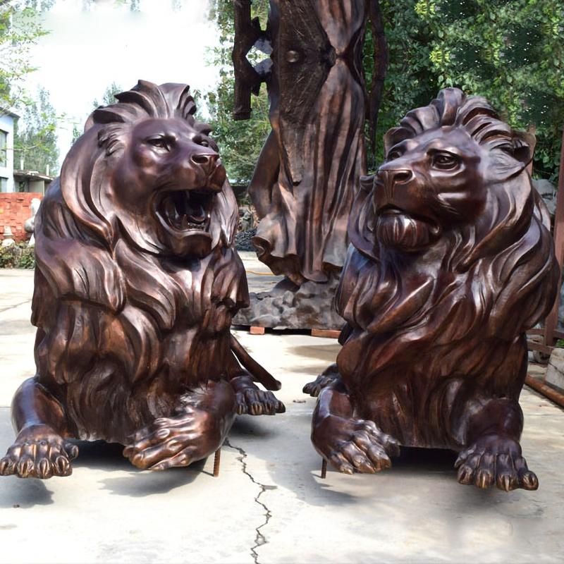 Large orangutan sculpture