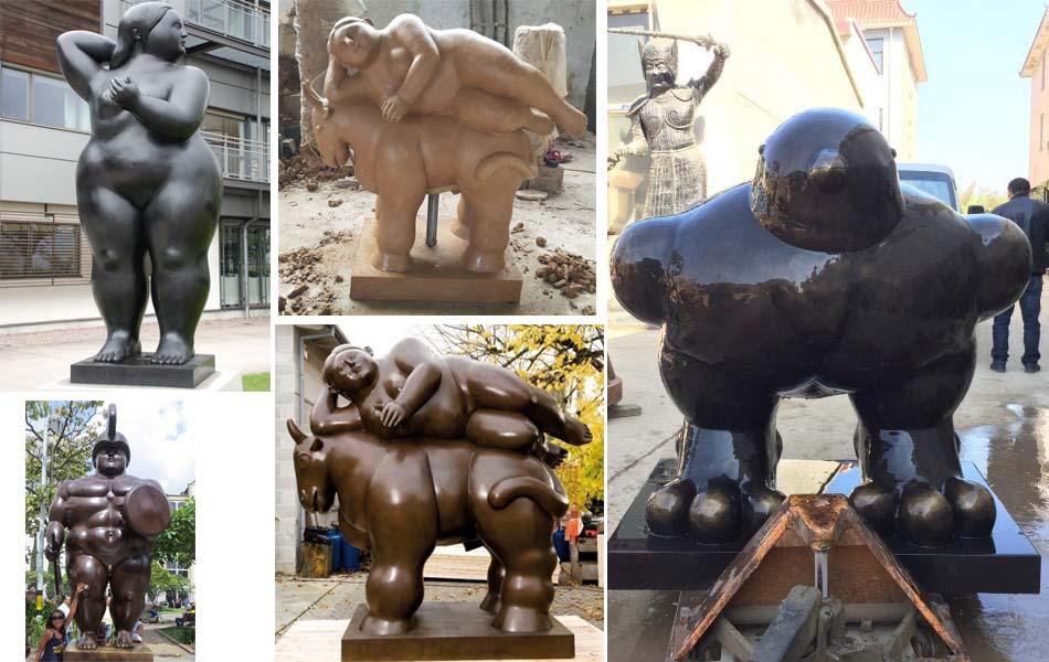 Portero art statue