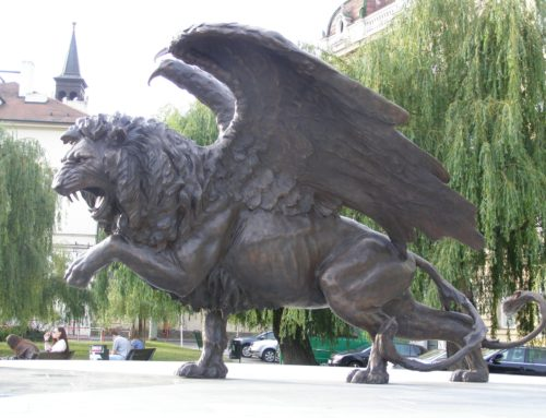 Statue Of Winged Lion