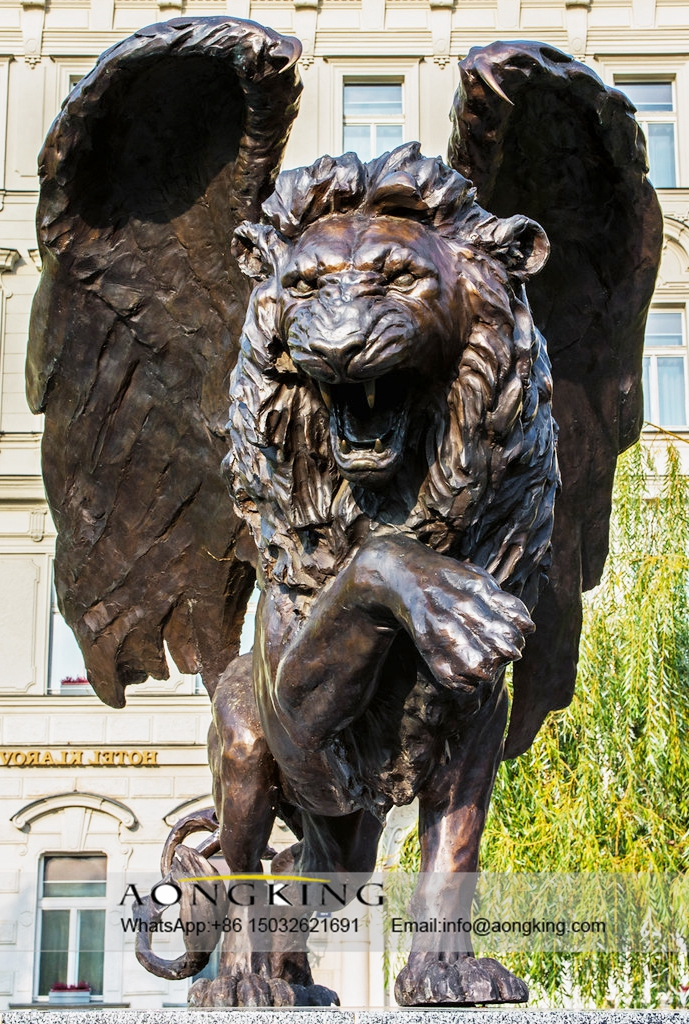 Copper Winged Lion