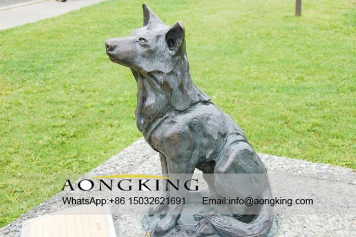 animal statues bronze
