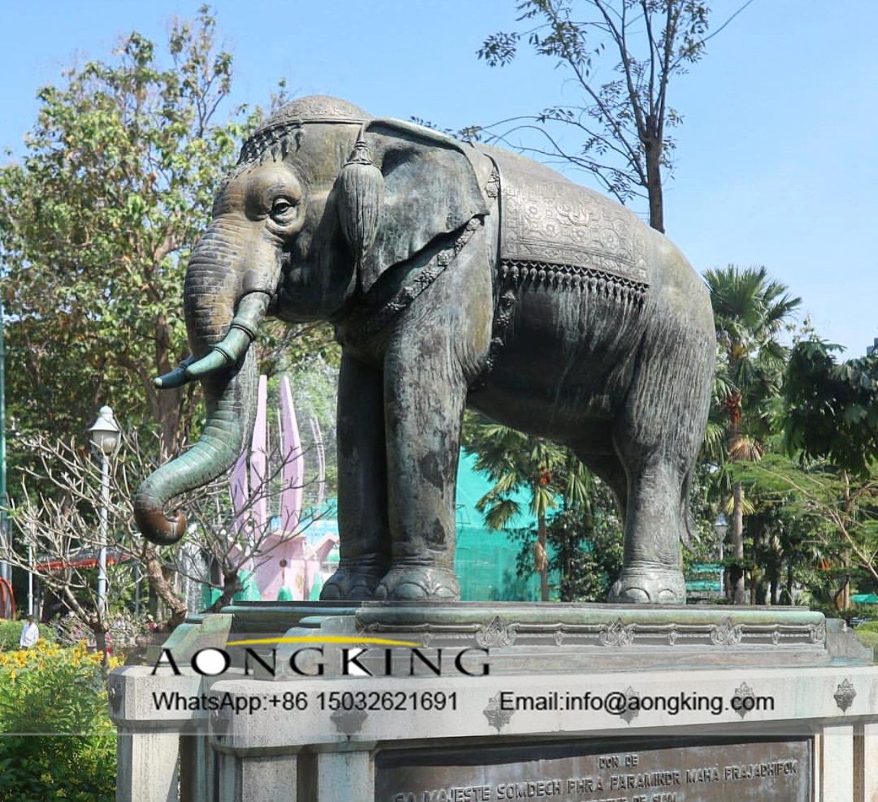 art elephant sculpture